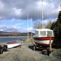 Llyn Tegid Y Bala and Boats